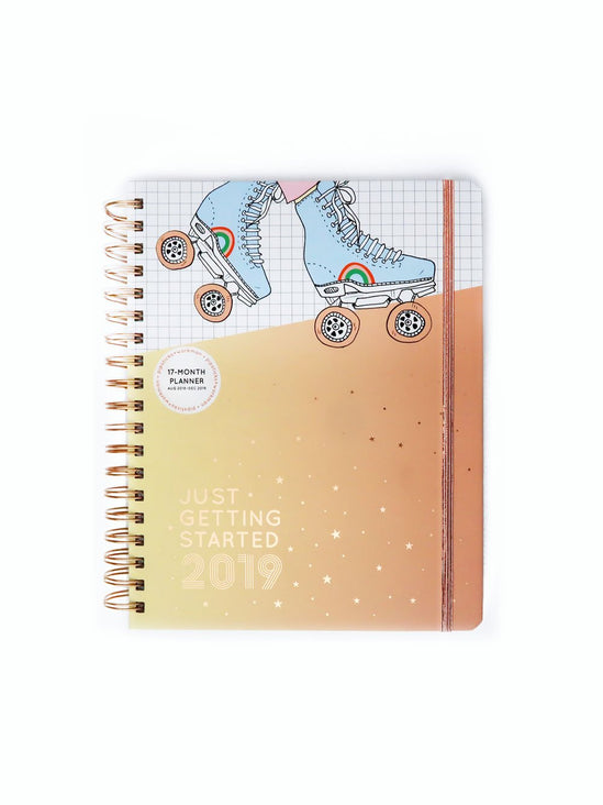 Just Getting Started 17 Month Planner
