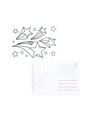 Shooting Star Postcard 20 Pack