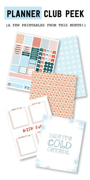 Makin' A List Planner Printables