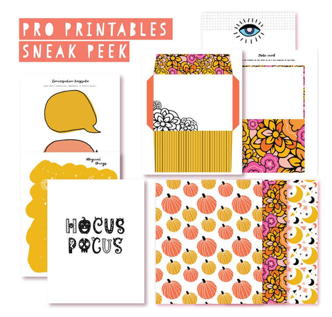 Autumn Is Magical Pro Printables