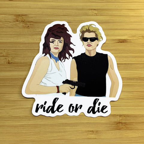 Thelma and Louise Sticker