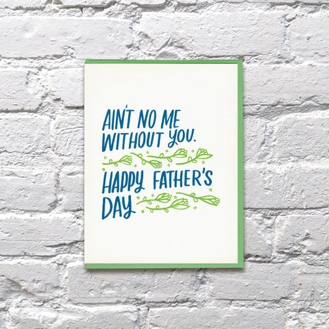 Bench Pressed - No Me Dad Card