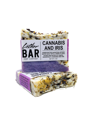 Cannabis and Iris Soap