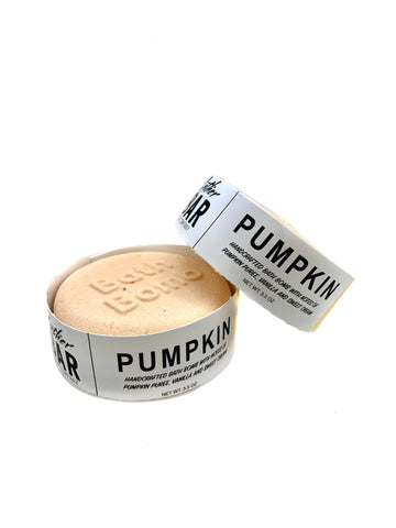 Pumpkin Bath Bomb