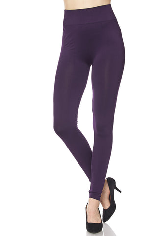 seamless curvy size full length leggings