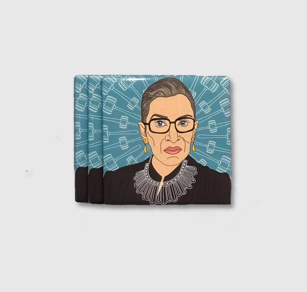 Blue Notorious RBG Magnet