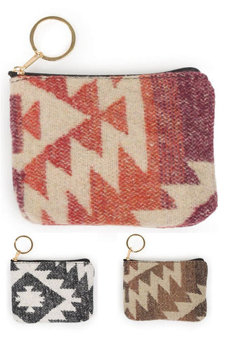 southwestern coin purse