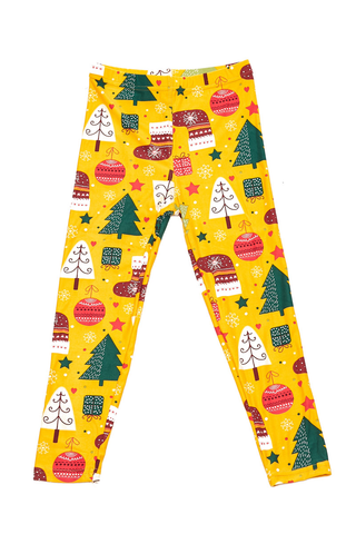 whimsical Christmas leggings J221