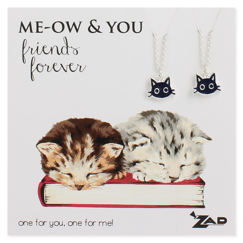 me-ow & you necklaces