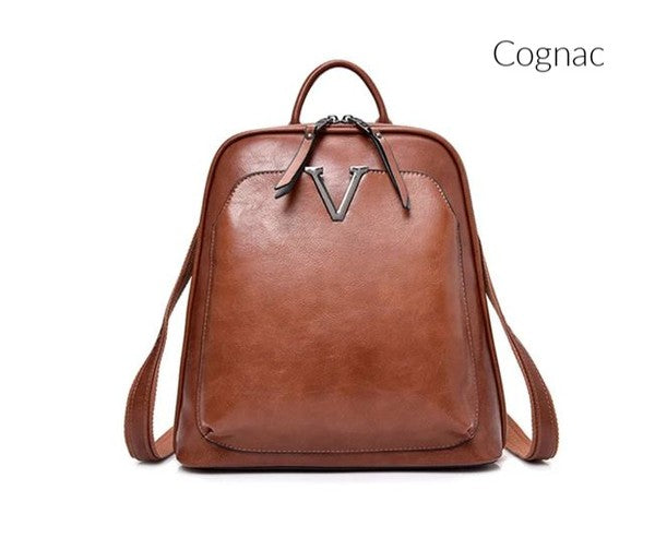 V convertible backpack