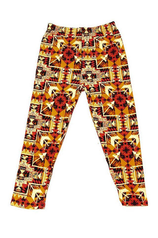 kids arrow print leggings