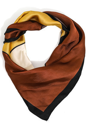 contemporary square scarf