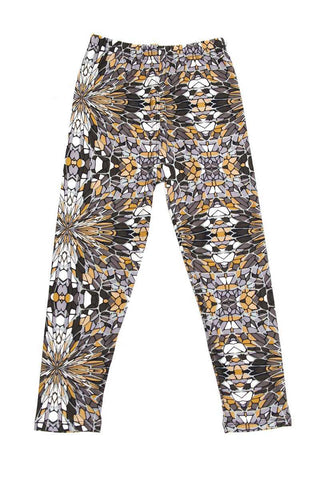 kids abstract leggings