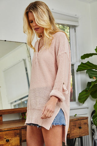 camp sleeve sweater