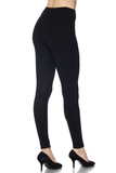 ribbed high waist leggings