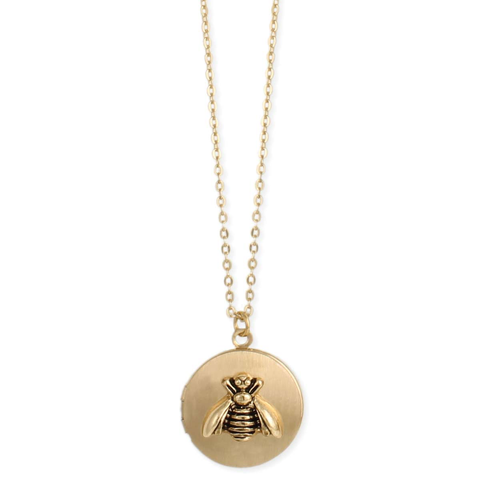 all the buzz bee locket necklace