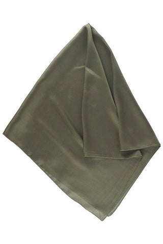solid silky neckerchief