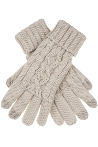 C.C cable smart tip gloves
