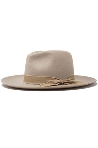 raw band Panama hat