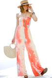 tie dyed smocked jumpsuit