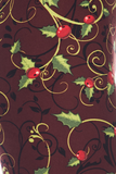 Christmas Holly print leggings