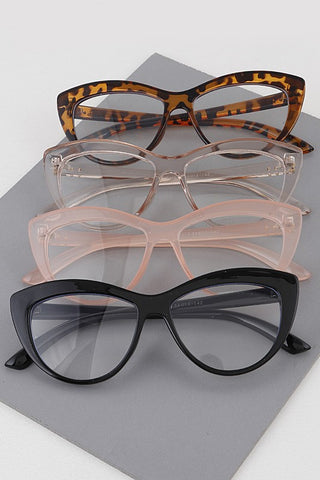 cat eye blue light blocker glasses