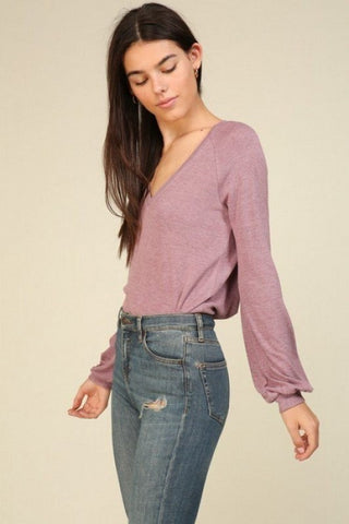 princess sleeve sweater
