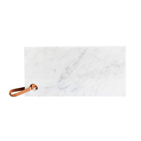 Marble leather strap long