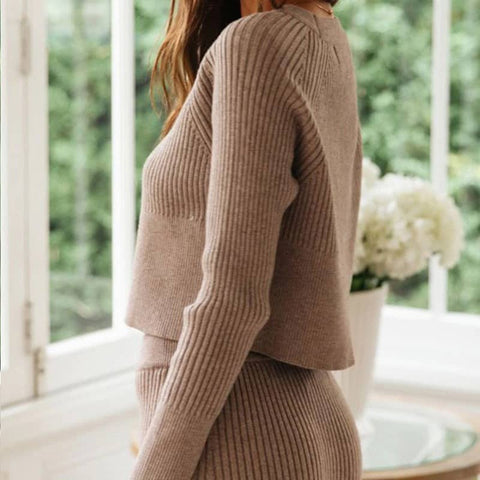 Chic Knitted Set
