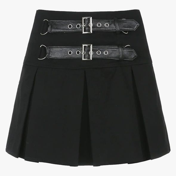 Double Belt Skirt