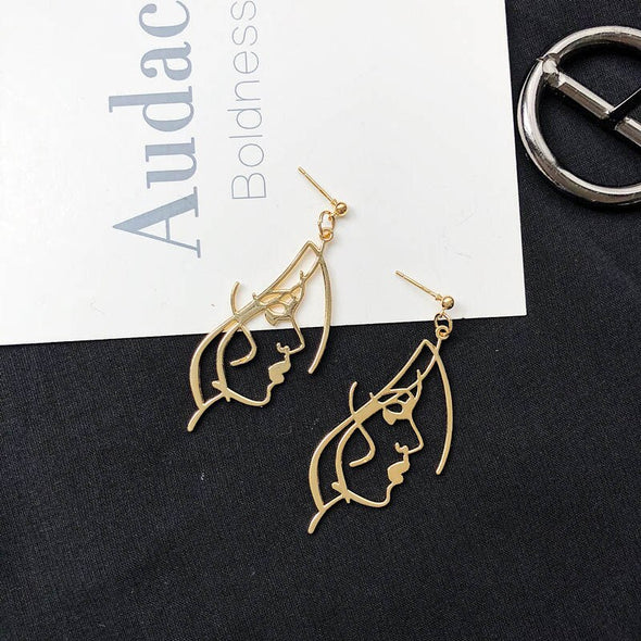 Abstract Beauty Earrings