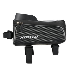SAVA KOOTU Waterproof phone bag for bicycle frame and tube bag on the frame. (2021 new model)