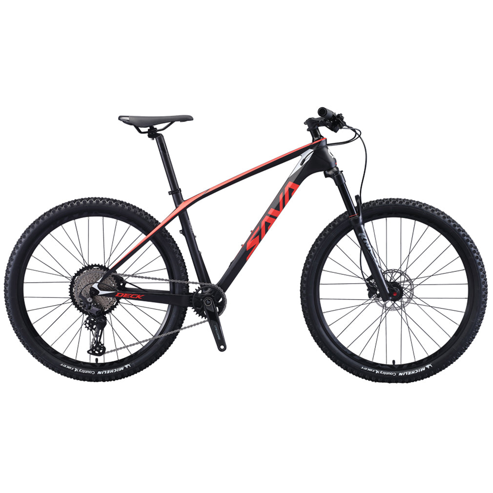 Shipping from USA,SAVA DECK6.1 Carbon Mountain Bike 27.5*17