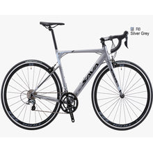 Load image into Gallery viewer, SAVA R8 Aluminium Alloy Road Bike,700C Carbon Fork Bicycle Shimano 105 R7000 22S Double V Brake