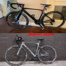 Load image into Gallery viewer, SAVADECK R8 Aluminium Road bike, 700C Carbon Fork Road Bicycle Light Aluminium Alloy Frame Road Bike with Shimano SORA R3000 18 Speed Derailleur System and Double V Brake