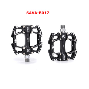 SAVA B017 Bike Pedals mtb Non-slip mtb BMX Universal Stainless Steel Pedals XC/DH/Racing