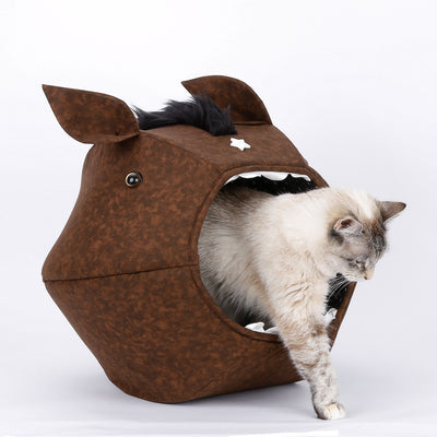 The Horse Cat Ball cat bed