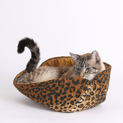 Does your cat crave a wild look for his decor?...