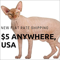 The Cat Ball now offers flat rate $5 shipping for...