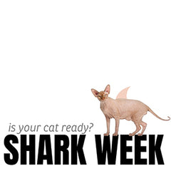 Shark Week is coming up and we've been thinking about...