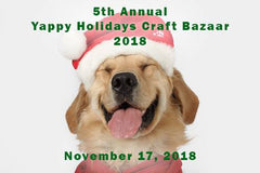 Yappy Holidays is a dog-friendly craft bazaar to support Motley...