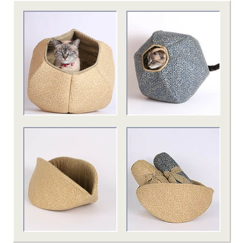 CAT BALL and jumbo CAT CANOE fabric options