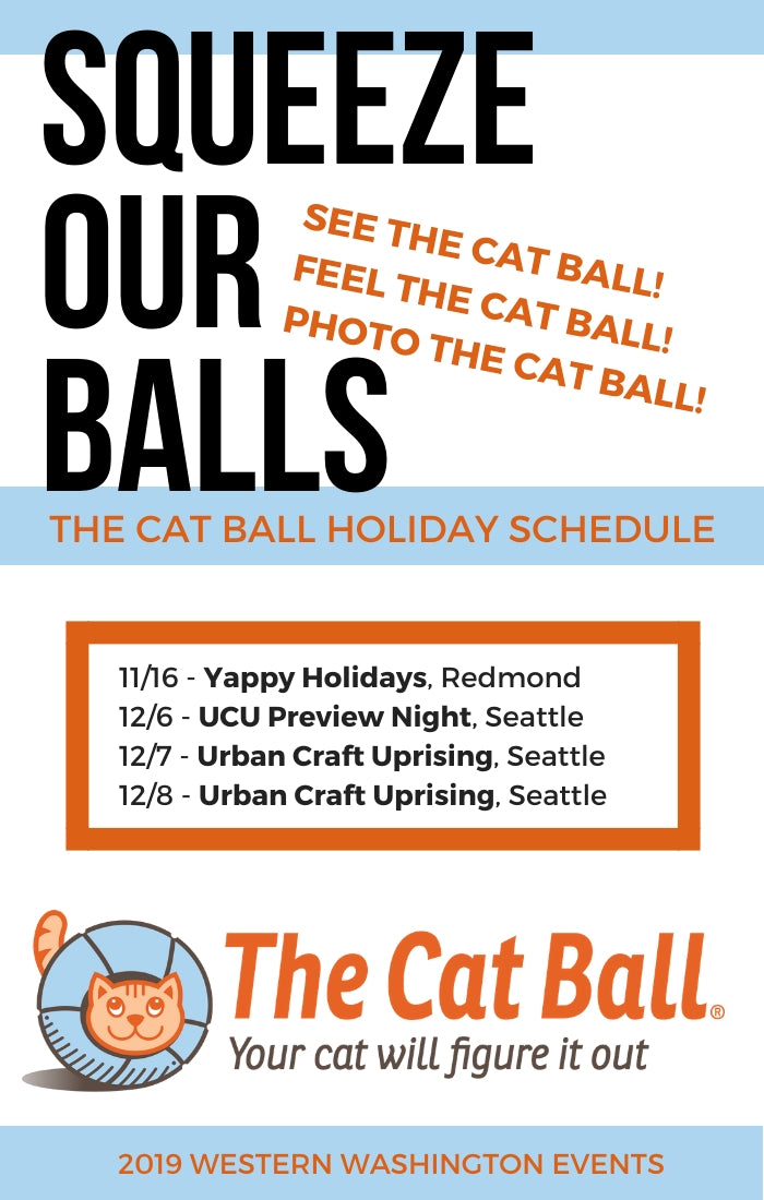 Cat Ball fall and winter 2019 events in the Seattle area