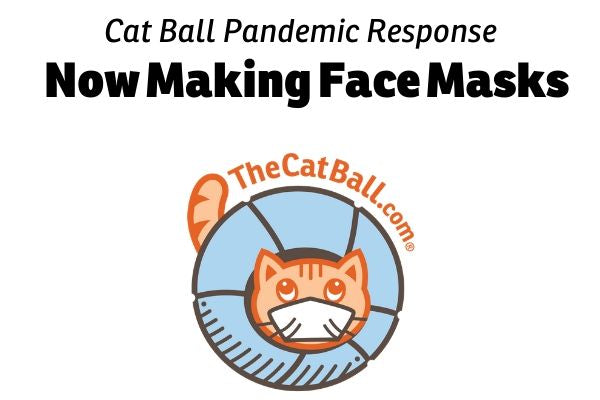 The Cat Ball, LLC is making face masks for the coronavirus pandemic