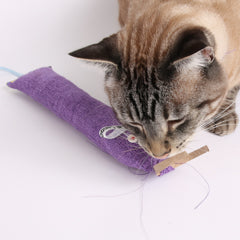 CAT CANOODLE catnip toy hack - the toilet paper tube