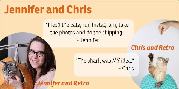 Jennifer and Chris are the people who make the Cat Ball happen