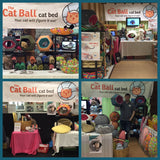 The Cat Ball sometimes attends live shows, events and craft sales