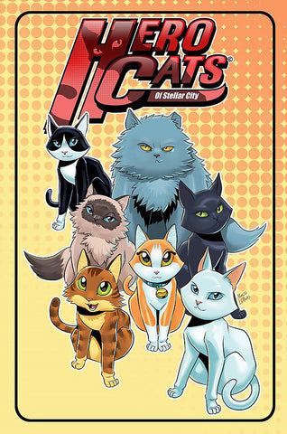 The Hero Cats of Stellar City are a tactical action-packed covert team of cats dealing with extraordinary threats to humanity in ways that will amaze.