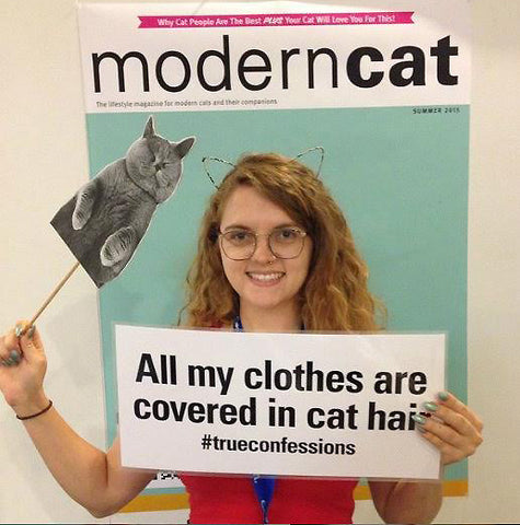 Modern Cat Magazine selfie photo booth at CatConLA