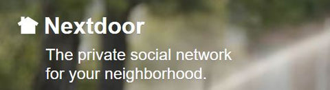 The NextDoor.com website offers a chance to support local businesses